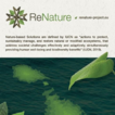ReNature: creating the first nature-based ...